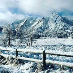 Happy white Saturday.  #Boulder #Colorado by @kimber4295 by bouldercolorado