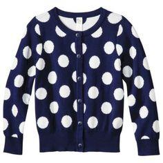 Cherokee® Infant Toddler Girls' Dot Cardigan