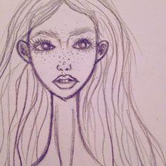 Her🎀 @flo.dolls  #her #Drawing #doll #dollart #instadoll #instadolls #fashiondolls #sculpture #bjd #porcelaindoll #porcelain
