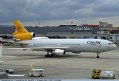 Mcdonald Douglas, Luxury Jets, Douglas Aircraft, Vintage Airline, Wide Body, Airports, Frankfurt, Cool Toys, Airplanes