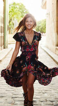 New Sukibandra Summer Vintage Maxi Long Women Floral Print Dress Boho Chic Ethnic Retro Bohemian Dress Hippie Chic Beach Vestidos Boho Summer Dresses, Hippie Dresses, Boho Dress, Sexy Dresses, Party Dresses, Casual Dresses, Bohemian Dresses, Dress Summer, Beach Dresses