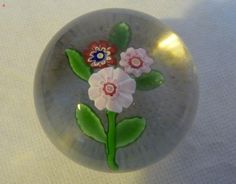 ANTIQUE FRENCH CLICHY NOSEGAY GLASS PAPERWEIGHT Sold £385