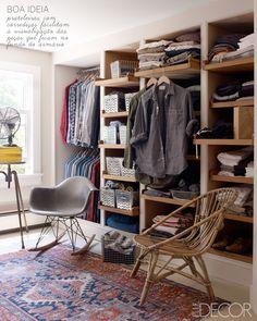 wardrobe with running shelves #decor #wardrobe