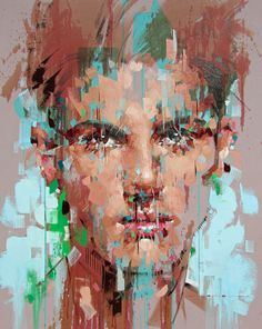 Jimmy Law Expressive Artist Small Doses 2017 Jimmy Law, Portrait Art, Painting Portraits, Street Art Graffiti, Drawing Techniques, Contemporary Paintings, Painting & Drawing, Amazing Art, Art Projects