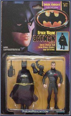 Kenner Batman - The Dark Knight Collection Series 1 Bruce Wayne Figure 1990
