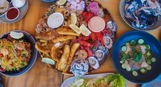 The Box On The Water, Ettalong Strawberry Moscato, Lettuce Wedge, Salt And Pepper Squid, Salmon Roe, Beer Battered Fish, Sydney Food, Seafood Platter, Fish And Chips