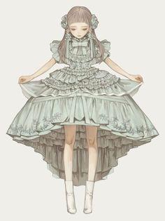 Character Design Cartoon, Character Art, Anime Manga, Anime Art, Design Steampunk, Dress Illustration, Poses References, Fantasy, Anime Outfits