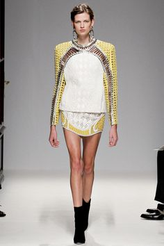 SPRING 2013 READY-TO-WEARBalmain- edgy