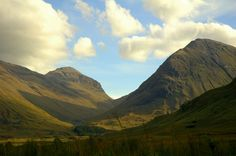 Glen Coe #Scotland Filming place of #Skyfall Check travel destination ideas stole from the cinema http://blog.travelworldpassport.com/travel-destination-ideas-stolen-from-the-cinema/