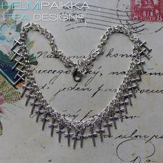 Helmipaikka Oy - Joka päivä on korupäivä - Helmipaikka. Crosses, Tea, Diamond, Jewelry, Jewlery, Jewerly, Schmuck, Diamonds, Jewels