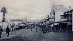 Russell St,Toowoomba in Queensland (year unknown).