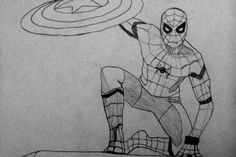 #dabbe #spiderman #örümcekadam #art #draw #pictures #charcoal