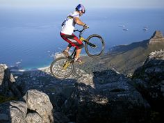Biking South Africa's Table Mountain. Next on my list of things to do this summer...