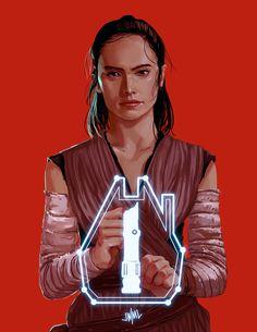 Rey | Star Wars: The Last Jedi #starwarsfanart