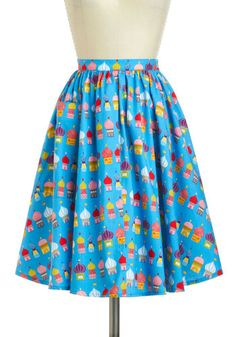 It's like a teacher skirt! World-Wind Tour Skirt, Modest Skirts, Cute Skirts, Vintage Skirt, Vintage Dresses, Retro Outfits, Cute Outfits, Cute Aprons, Modcloth, Passion For Fashion