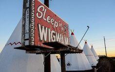 Das bekannte Wigwam Motel an der Route 66 © Julia Schafhauser