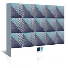 Americanflat Triangles 4 by Armand Graphic Art on Wrapped Canvas Size: