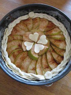 PASTU domov: Hruškový koláč s pudinkem Pancakes, Pie, Breakfast, Desserts, Torte, Morning Coffee, Tailgate Desserts, Cake, Deserts
