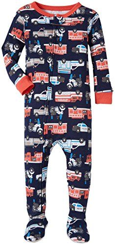 Carters Graphic Footie Multi Rescue 12 Months