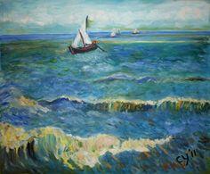 Seascape near Saintes-Maries by CarolynYM on DeviantArt