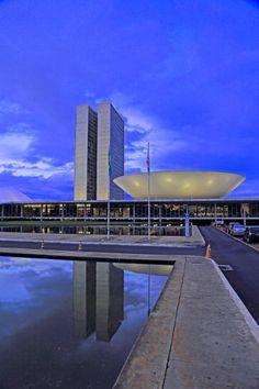 Congresso Nacional, Brazilia - Brazil