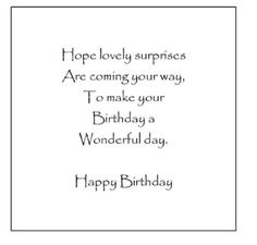 210 Best Birthday Verses Inserts Images In 2019 Messages Birthday