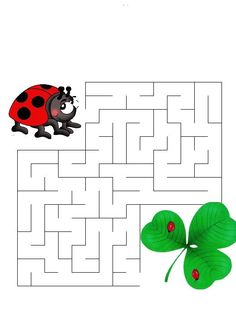 lienka Summer Activities, Learning Activities, Preschool Activities, Spot The Difference Kids, Mazes For Kids Printable, Maze Puzzles, File Folder Activities, Art Drawings For Kids, Animal Coloring Pages