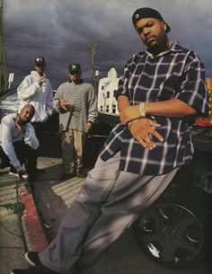 Ice Cube and The Westside Connection Arte Do Hip Hop, Hip Hop Art, Hip Hop And R&b, 90s Hip Hop, Hip Hop Fashion, 90s Fashion, Westside Connection, Arte Cholo, Hiphop