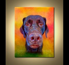 Dog Portrait  your pet by ScottieInspired, $40.00...I am so getting this done for my dog!