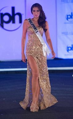 Miss Philippines, 2017 Miss Universe, Evening Gown Preliminary Competition