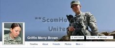Griffin Merry Brown... FAKE MILITARY #SCAM #FACEBOOK real person is Monica Lin Brown  https://www.facebook.com/LoveRescuers/posts/604908679675563