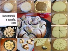 Torta di pan brioche alla Nutella | ricetta passo-passo danubio dolce