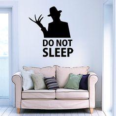 Freddy Krueger Wall Decal  Vinyl Wall Art by madmonkeydecals, €20.00
