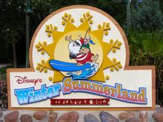 Winter Summerland Miniature Golf Course at Blizzard Beach, Walt Disney World, FL- The winter side is my favorite!