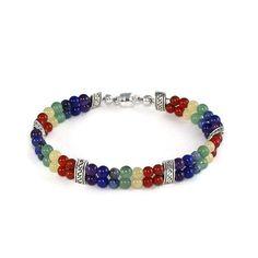 Chakra Cuff Bracelet 7 Chakra Bracelet by LarisJewelryDesigns #etsymnttig #etsymnttgfher #etsymnttgfn #etsymnttbgt #etsymnttgbp