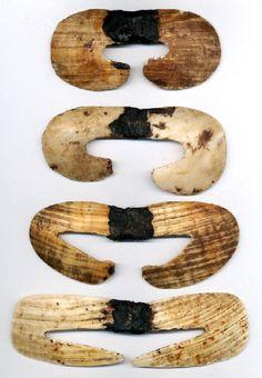 New Guinea | Shell septum piercings.
