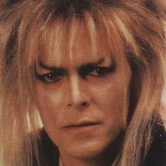 Jareth, the Goblin King (David Bowie). David Bowie Labyrinth, Labyrinth 1986, Labyrinth Movie, Jareth Labyrinth, Music Tv, Good Music, Labyrinth Goblins, Sarah And Jareth, Goblin King