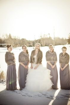 Winter weddings!