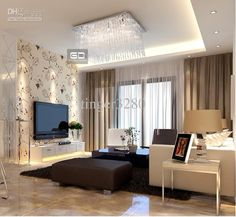 luxury modern living room with fireplace - Google Search