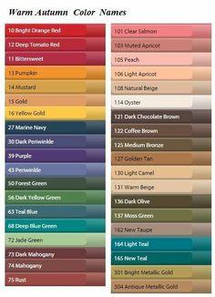 Soft autumn color names Soft Autumn Deep, Dark Autumn, Fall Winter, Soft Autumn Color Palette, Autumn Colours, Deep Winter Colors, Color Type, Type 3, Stil Inspiration