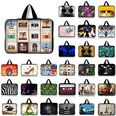 [Visit to Buy] Laptop bag 17.3 17 15.6 15 14 13 12 10.1 inch  Women computer bags PC handbags  notebook bag For Macbook Asus Dell Acer HP #Advertisement