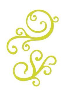 Kaisercraft - Decorative Dies - Swirl Flourish ~ Products I Love.