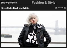 B-side // I Love My City Tee // New York Times
