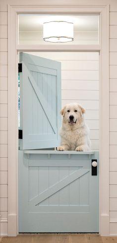 Create a Welcoming Front Door: 7 Ideas - Town & Country Living White Farmhouse, Farmhouse Design, Farmhouse Style, Farmhouse Door, Farmhouse Windows, Rustic Style, Modern Farmhouse, Interior Barn Doors, Home Interior
