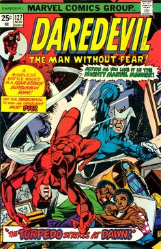Daredevil #127 cover by Gil Kane