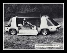 """Love Machine"" Show Van, 1974 by Cosmo Lutz, via Flickr"