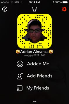 Add Me On Snapchat.