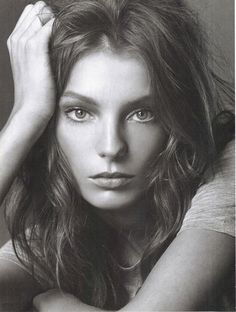 Daria Werbowy in Vogue Italy May 2004