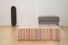 Deze Rotterdammers maken designtafels van afgedankte skateboards | The Creators Project