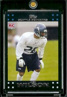 2007 Topps Football # 381 Josh Wilson (RC) Rookie Card - Seattle Seahawks - NFL Trading Cards by Topps. $2.51. 2007 Topps Football # 381 Josh Wilson (RC) Rookie Card - Seattle Seahawks - NFL Trading Cards